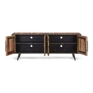 KK NO 18001 | Nordic TV Dresser 4 Doors