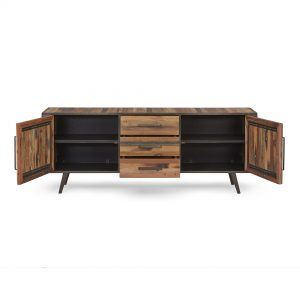KK NO 19006 | Nordic Buffet 2 Doors 3 Drawers