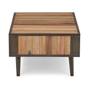 KK NO 20001 | Nordic Coffee Table Open Shelf